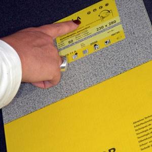 Tissu de polissage -façon CHAMOIS- 250x280mm - vendu par 3