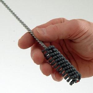 Spiral Rolls, tiges pilote pour ... www.polirmalin.com spécialiste du polissage, de l'ébavurage et du brossage