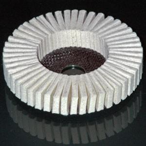 Toile abrasive www.polirmalin.com spécialiste du polissage, de l'ébavurage et du brossage
