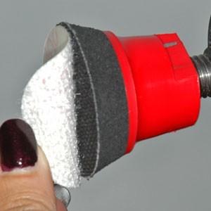 Coton Flanelle www.polirmalin.com spécialiste du polissage, de l'ébavurage et du brossage