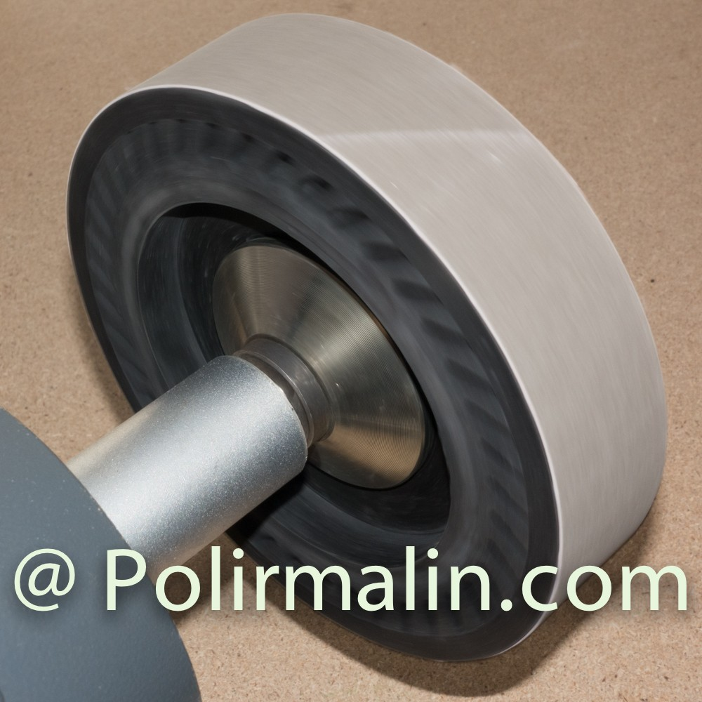 Expander Wheel www.polirmalin.com spécialiste du polissage, de l'ébavurage et du brossage