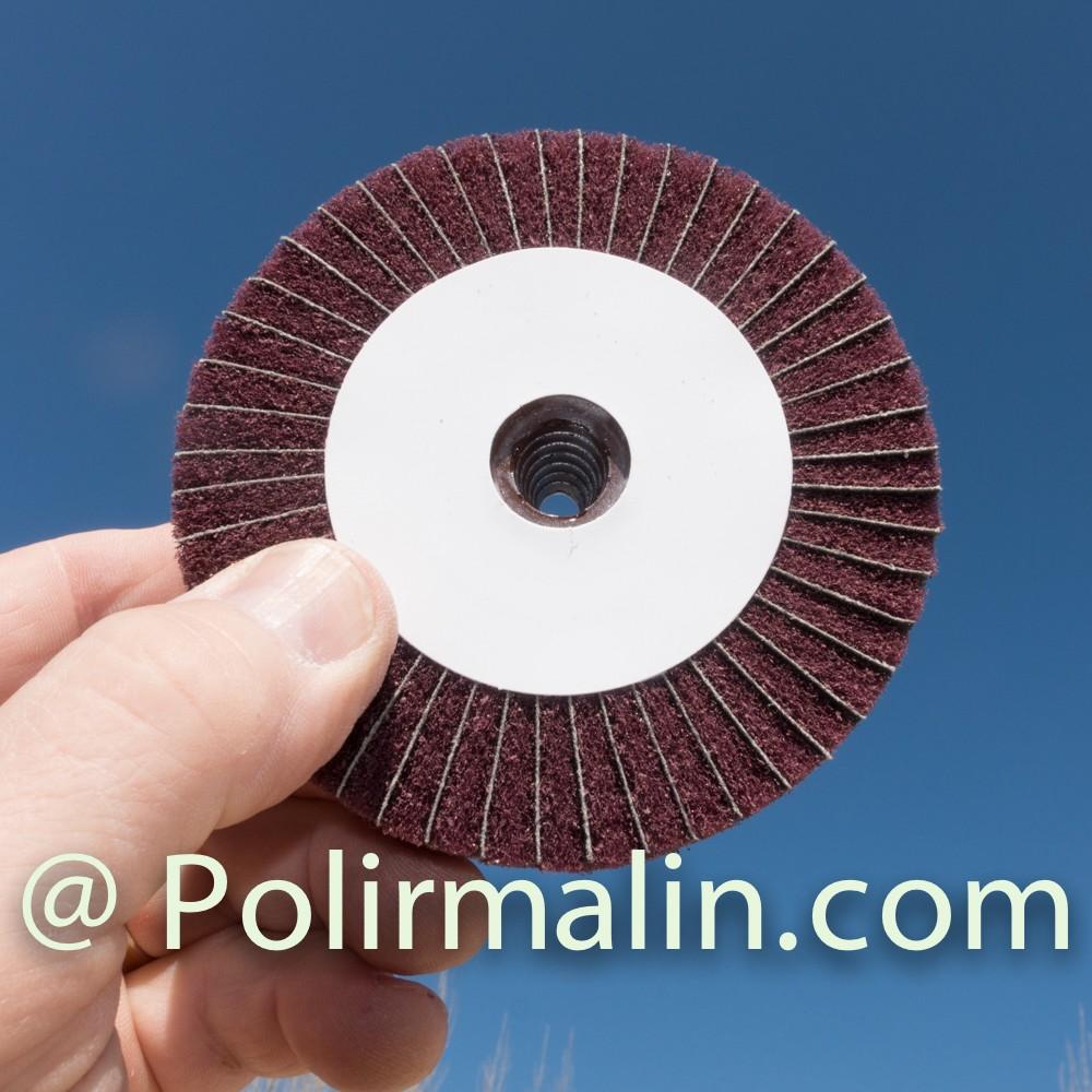 Flanelle www.polirmalin.com spécialiste du polissage, de l'ébavurage et du brossage