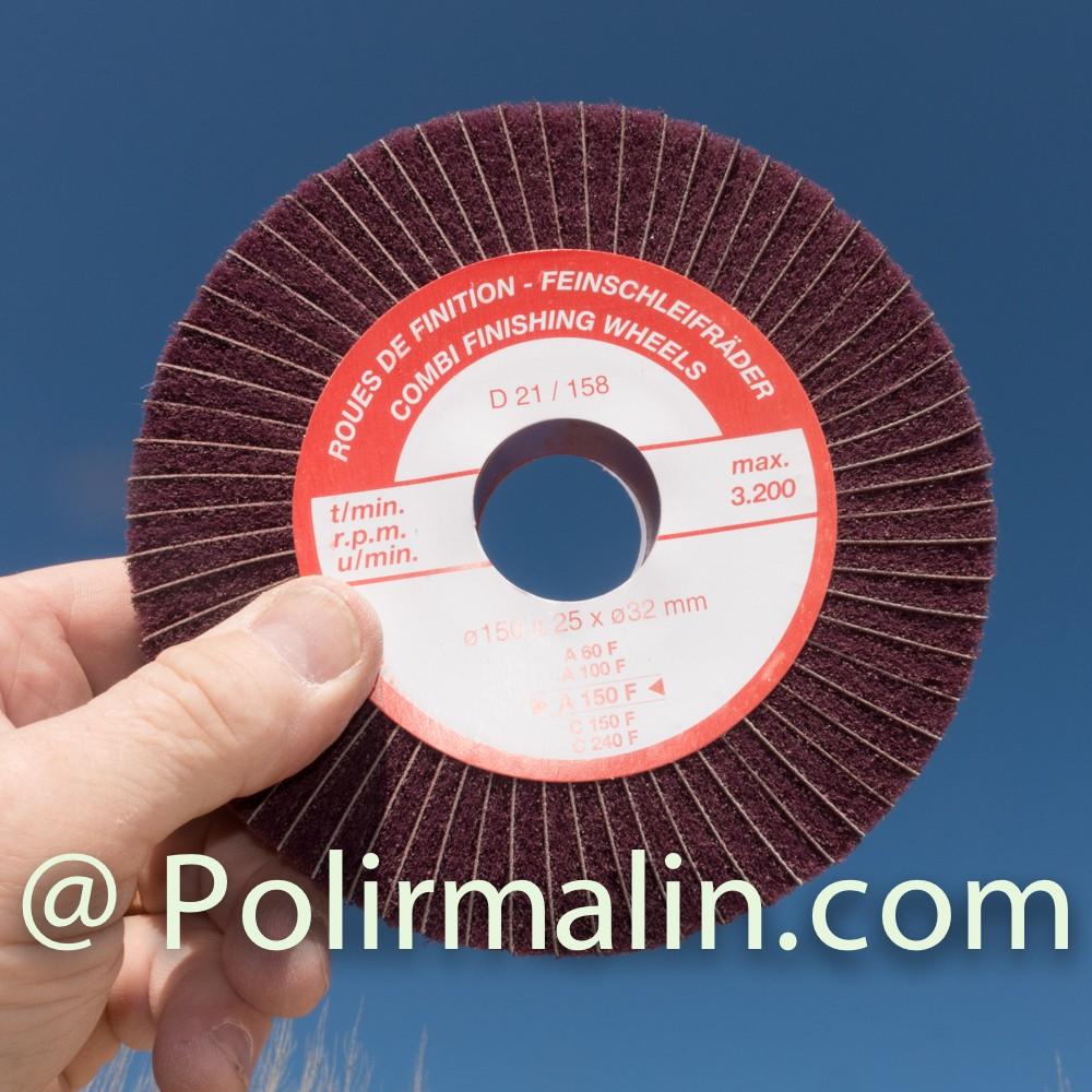 Bloc de pate a polir www.polirmalin.com spécialiste du polissage, de l'ébavurage et du brossage