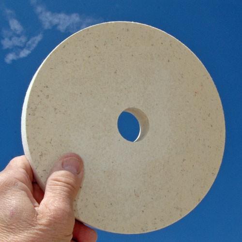 Plateau à lamelles de nylon abrasif ø125xø22,2mm