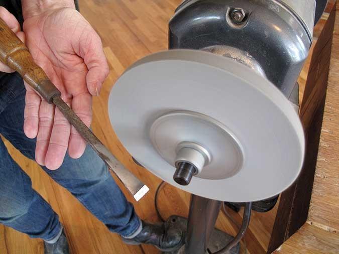 Sisal cousu 125x20x13mm www.polirmalin.com spécialiste du polissage, de l'ébavurage et du brossage