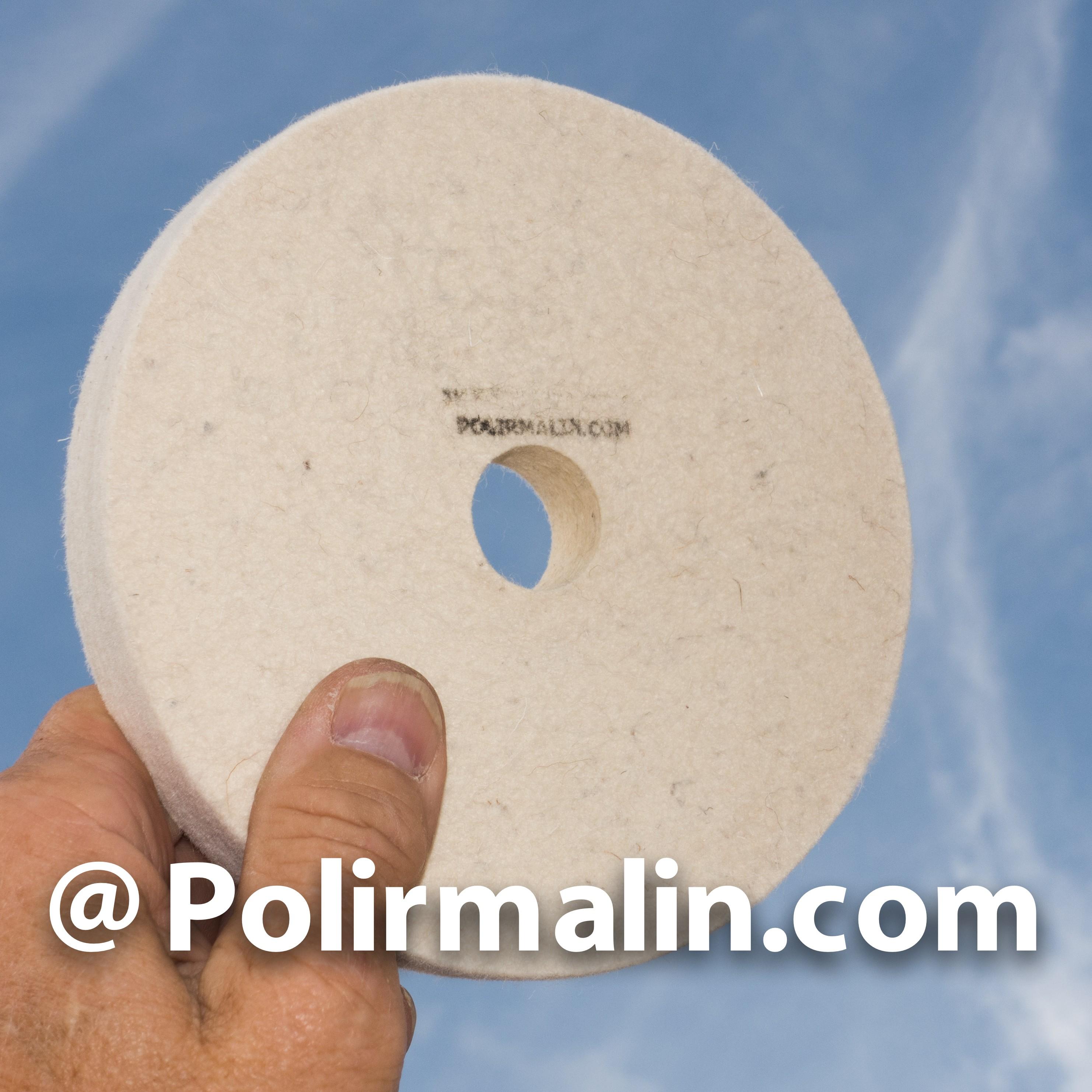 Feutre 150x18x25mm pour polissage