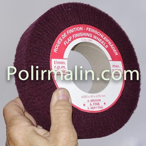 Coton www.polirmalin.com spécialiste du polissage, de l'ébavurage et du brossage