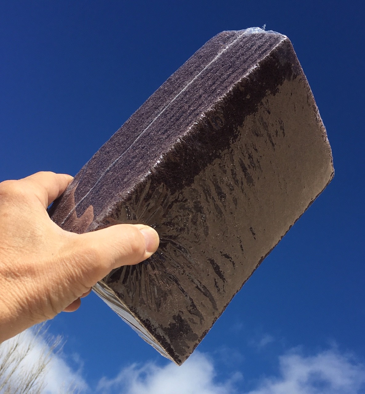 tampons en nylon abrasif