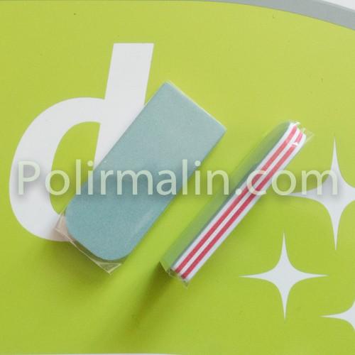 DIX blocs de pâte à polir EKLA - blanc