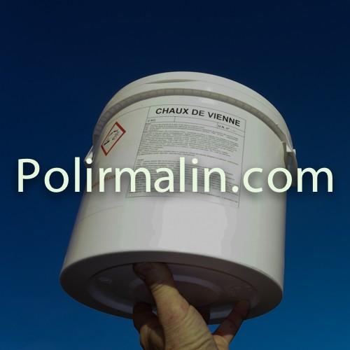 Chaux de Vienne 6kg. www.polirmalin.com spécialiste du polissage, de l'ébavurage et du brossage