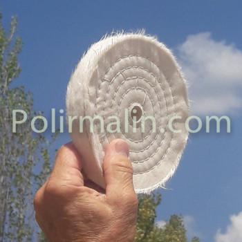 coton cousu pour polissage à charger de pain à polir