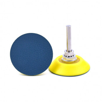 Roue 100x25x16/6mm combinée toile/nylon abrasif