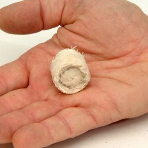 Coton 40 10 sur tige 3 www.polirmalin.com spécialiste du polissage, de l'ébavurage et du brossage