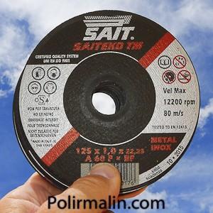 disques  tronconner www.polirmalin.com spécialiste du polissage, de l'ébavurage et du brossage.